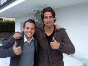 Sami mit seinem Lehrer
